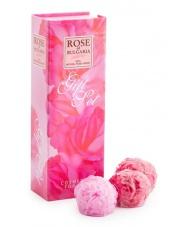 Zestaw kosmetyków różanych - 3 różane mydełka
