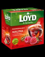 Loyd Herbata Warming Tea malinowa z cynamonem i czarnym pieprzem