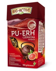 Pu-erh czerwona herbata o smaku grejpfrutowym