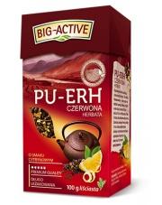 Pu-erh czerwona herbata o smaku cytrynowym