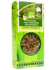 Herbatka ekologiczna Polecana przy nadmiarze cholesterolu