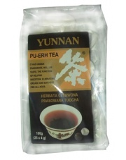 Yunnan herbata czerwona Pu-erh prasowana Tuocha gniazdka