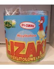 Lizaki ksylitolowe kogutki owocowe