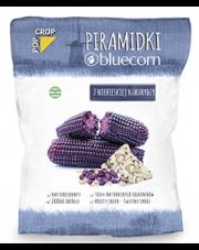 Piramidki z niebieskiej kukurydzy