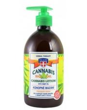 Cannabis Lotion - Ziołowy żel kosmetyczny z olejem konopnym