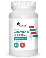 Witamina B6 (P-5-P) 25 mg
