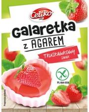 Galaretka z agarem o smaku truskawkowym