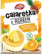 Galaretka z agarem o smaku ananasowo-pomarańczowym