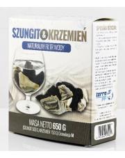 Szungit & Krzemień - naturalny filtr wody, granulacja M
