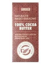 Amber Naturalne Masło Kakaowe 100%