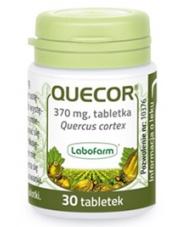 Quecor - kora dębu 370 mg