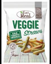 Veggie straws - ziemniaczane paluszki o smaku warzywnym