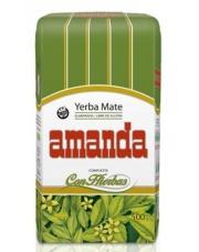 Yerba mate Amanda con hierbas