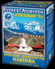 Haridra - Rekonwalescencja po operacjach