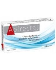 Apirectal - czopki doodbytnicze z kwasem hialuronowym i propolisem
