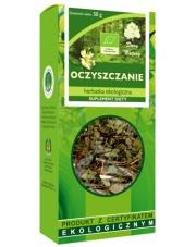 Herbatka ekologiczna Oczyszczanie