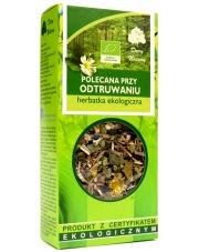 Herbatka ekologiczna Polecana przy odtruwaniu