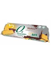 Wafelki nadziewane kakaowe bez dodatku cukru
