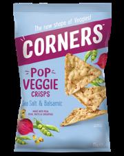 Corners Chipsy warzywne z burakiem, grochem i ciecierzycą