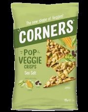Corners Chipsy warzywne z fasolą, grochem, kukurydzą i solą morską