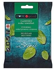 Cukierki eukaliptusowo-miętowe bez cukru ze stewią