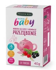 HerbiBaby Herbatka dla dzieci i niemowląt PRZEZIĘBIENIE
