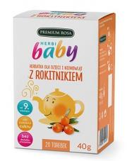 HerbiBaby Herbatka dla dzieci i niemowląt Z ROKITNIKIEM