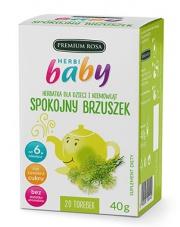 HerbiBaby Herbatka dla dzieci i niemowląt SPOKOJNY BRZUSZEK