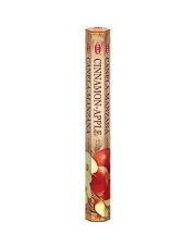 Kadzidełko zapachowe sześciokątne Cynamon-Jabłko
