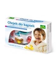 Olejek do kąpieli dla dzieci z witaminami A i E i olejem wiesiołkowym