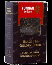 Yunnan de luxe herbata czarna liściasta Golden Pekoe