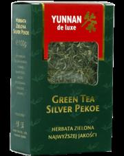 Yunnan de luxe herbata zielona liściasta Silver Pekoe