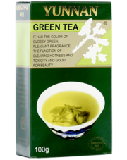 Yunnan herbata zielona liściasta