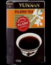 Yunnan herbata czerwona Pu-erh liściasta