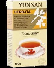 Yunnan herbata czarna Earl Grey liściasta
