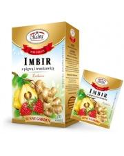 Herbatka Imbir z pigwą i truskawką