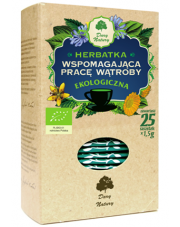 Herbatka ekologiczna wspomagająca pracę wątroby