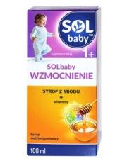 SOLbaby wzmocnienie syrop z miodu + witaminy