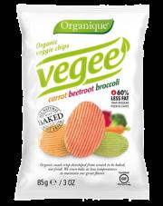 Ekologiczne pieczone chipsy warzywne Vegee
