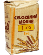 Mąka żytnia drobno mielona pełnoziarnista