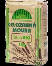 Mąka żytnia BIO pełnoziarnista gruba