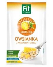 Fitmania Superfruits Owsianka z ananasem, mango i chia