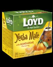 Loyd Yerba Mate o smaku mandarynki
