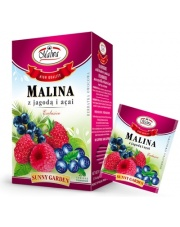 Herbatka Malina z jagodą i acai