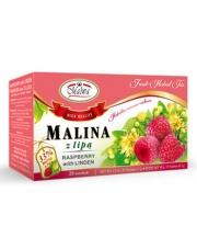 Herbatka Malina z lipą