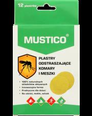Mustico Plastry 12 sztuk