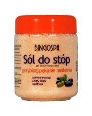 Sól do stóp ze skłonnościami - grzybica, pękanie naskórka