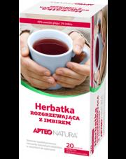 Herbatka rozgrzewająca z imbirem