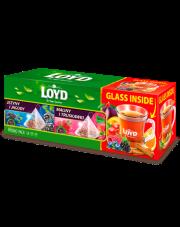 Loyd Zestaw herbat + szklanka